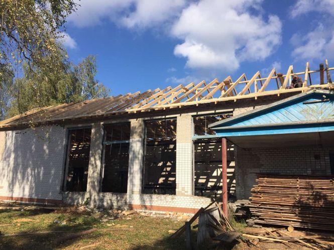 Для клубу – новий дах, а для громади – урок і приклад!